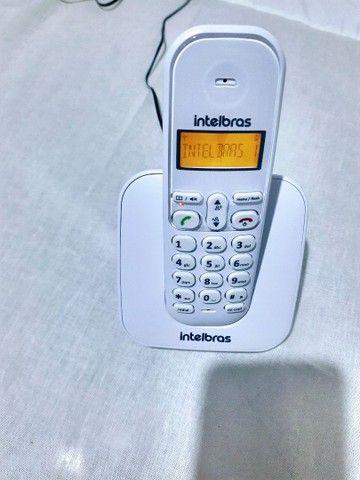 Ramal sem Fio Digital TS3111 ou TS3110 Branco - Intelbrás