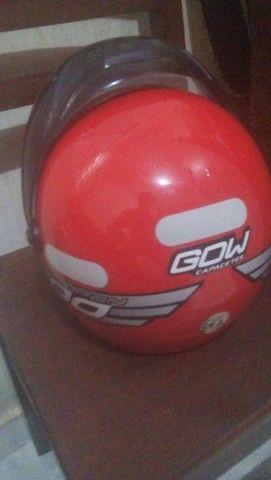 capacete zerado - Foto 2