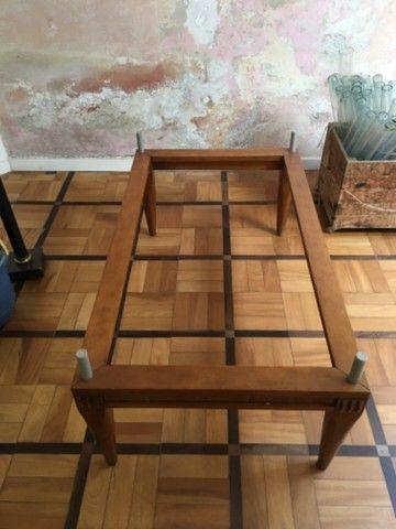 Base mesa baixa madeira - Foto 2
