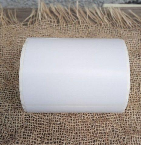 2 etiqueta bopp 100x50 (10x5) adesiva fosco com 804un por rolo. - Foto 4