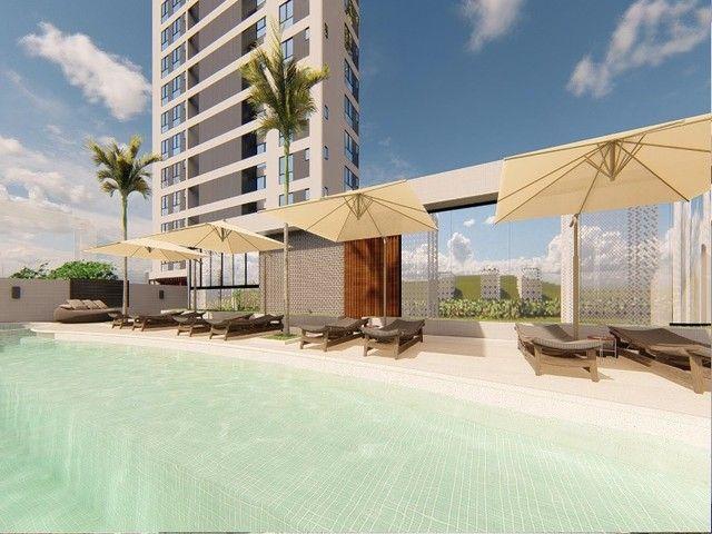 Apartamento em construção, 03 suítes, piscina, varanda, 03 vagas de garagem privativas, Ba - Foto 17