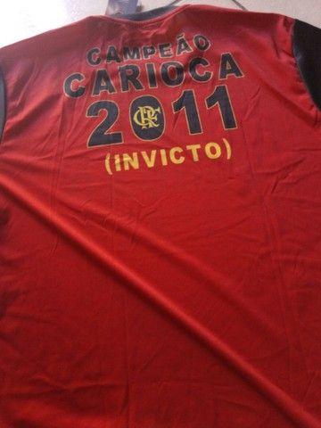 Camisa oficial flamengo retrô gg - Foto 3