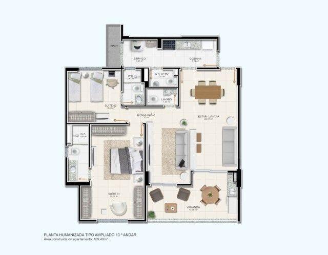 Ravello Residence    <- Lindo Lançamento \\  Jardim Europa, - Foto 14