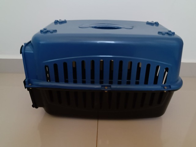 Caixa transporte pra cachorro. - Foto 3