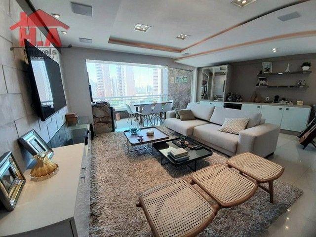 Apartamento com 3 dormitórios à venda, 136 m² por R$ 950.000,00 - Aldeota - Fortaleza/CE - Foto 2