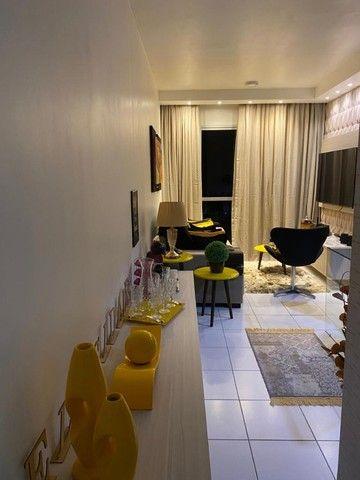 Apartamento 2/4 com Todos os Móveis Planejados - 55m² - Serraria - Foto 2