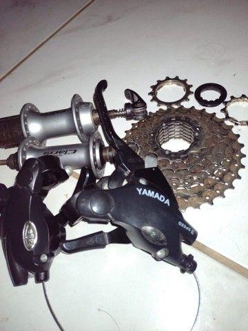 Peças de Bicicleta Semi novas