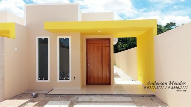 Casa plana a 5 minutos da maraponga 6 x 30 terreno