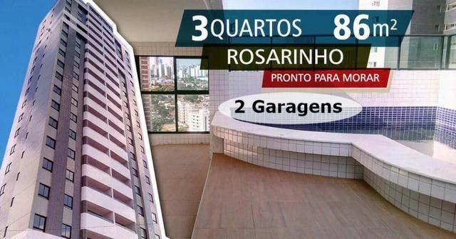 Rosarinho, 3 quartos, 86m2 , 2 garagens