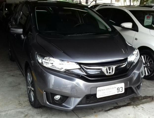 Honda Fit 1.5 ex flexone automatico 2015/2015 cinza - Foto 11
