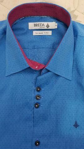 cfab28cef5 Blazer Resumo slim sport fino e camisa social novos - Roupas e ...