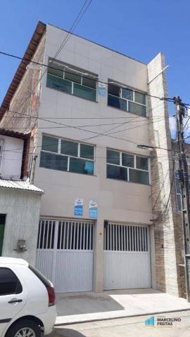 Apartamento com 2 dormitórios para alugar, 50 m² por r$ 559,00/mês - jacarecanga - fortale