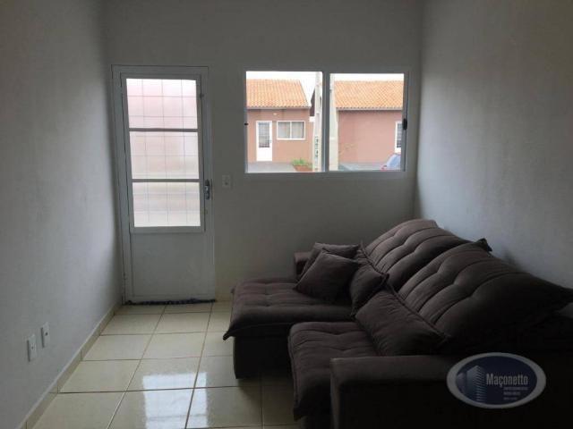 Casa com 2 dormitórios para alugar, 50 m² por r$ 650/mês - jardim maria imaculada i - brod - Foto 2
