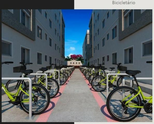 Apartamento 2Q Parque Macambira 100% financiado entrada facilitada - Foto 9
