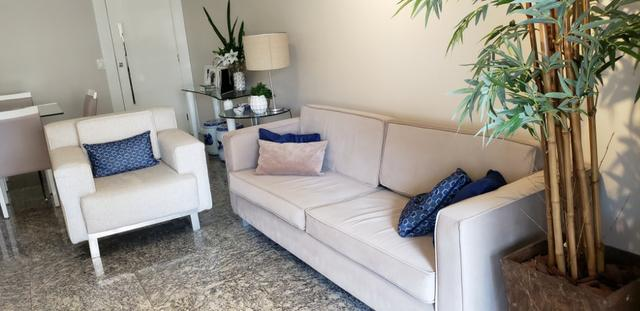 Incrível apartamento 4 suítes, mobiliado, Aldeota/Meireles - Foto 2