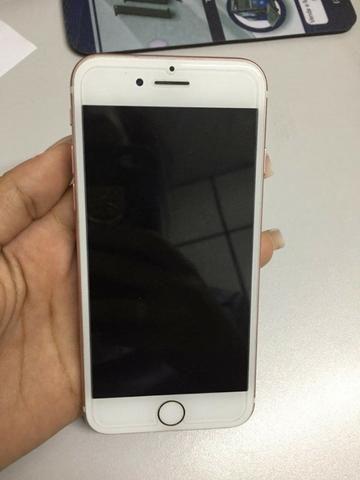 Celular Iphone 7 rose 32gb seminovo