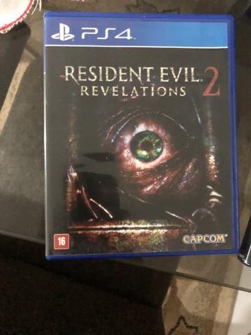 Resident evil 2 jogo de Ps4