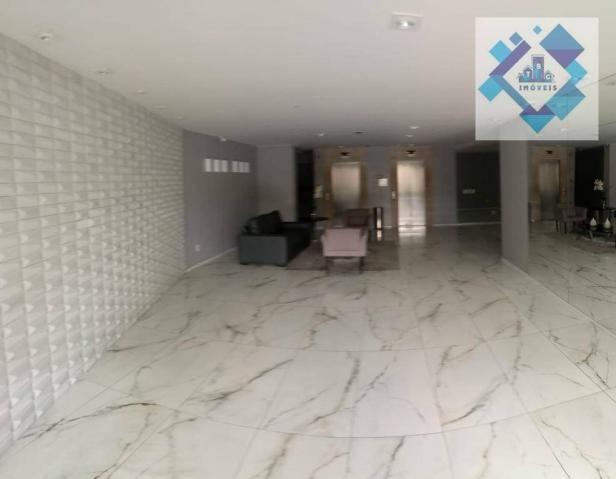 Apartamento com 3 dormitórios à venda, 112 m² por R$ 850.000 - Cocó - Fortaleza/CE - Foto 4