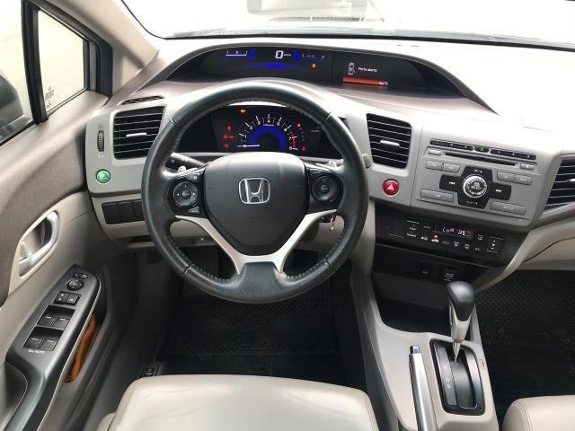 // Honda Civic LXL Automático 2013 - Revisões em Concessionaria!! - Foto 6