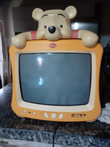 Televisão do ursinho