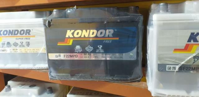 Baterias kondor 60ah free!! 3397-2074