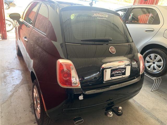 (Júnior Veículos) Fiat 500 1.4 Ano:2012 Completo - Foto 6