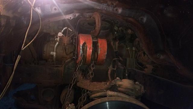 Reforço do suporte da mola da Mitsubishi Triton - Foto 5