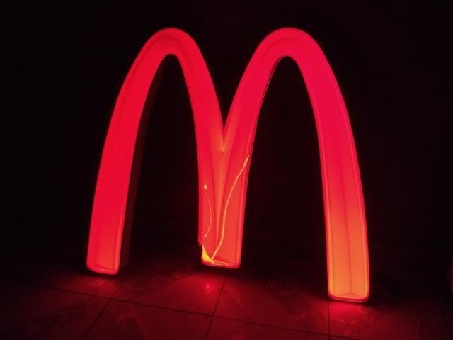 Placa Luminosa McDonalds - Foto 4