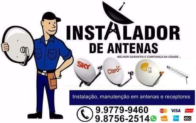 Instalações e Apontamento de Antenas