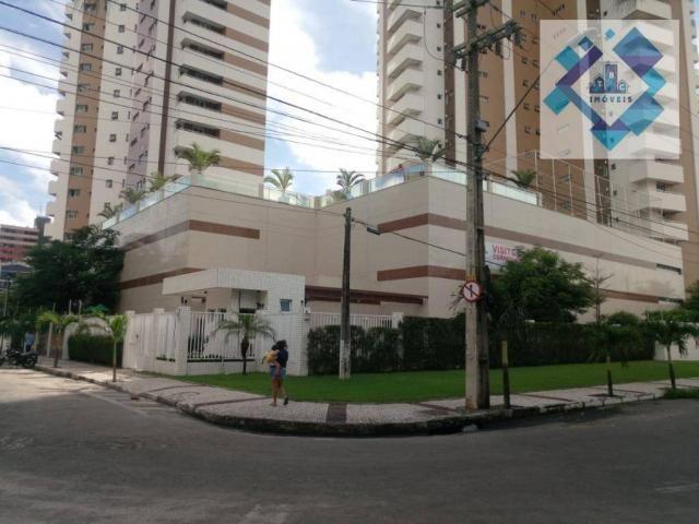 Apartamento com 3 dormitórios à venda, 112 m² por R$ 850.000 - Cocó - Fortaleza/CE