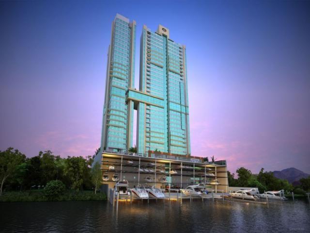 O Marina Beach Towers é o único da América do Sul com uma marina exclusiva, totalmente equ - Foto 6