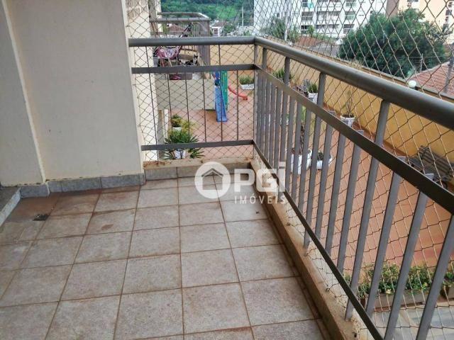 Apartamento com 2 dormitórios para alugar, 82 m² por R$ 1.100/mês - Santa Cruz - Ribeirão  - Foto 2