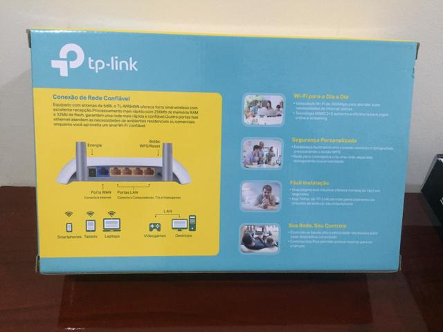 Roteador Wireless TP LINk 300Mbps 2 antenas - Foto 4