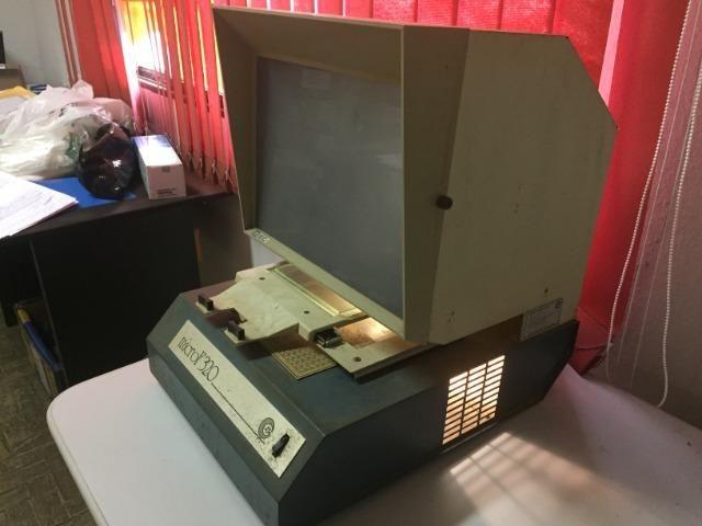 Leitor de microfichas - Foto 2