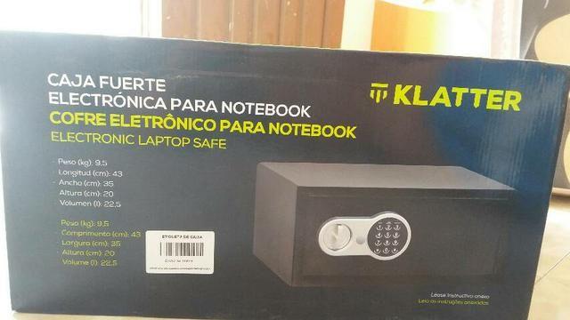 Cofre eletrônico para notebook