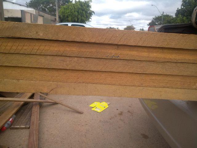 Porta pivoltante ipê 2.30X1.20 - Foto 5