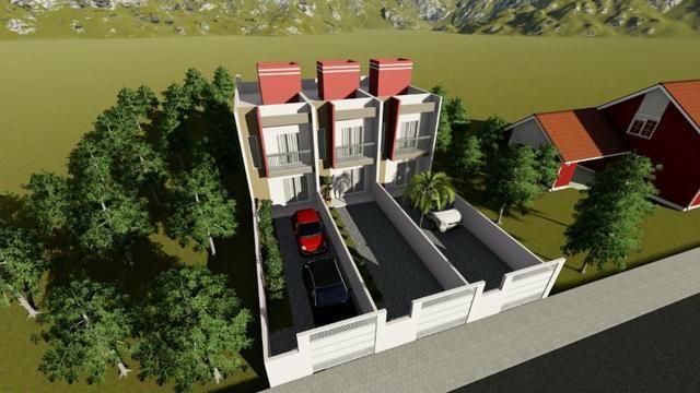 Residencial Jaspe Lindo Geminado Duplex - Foto 2