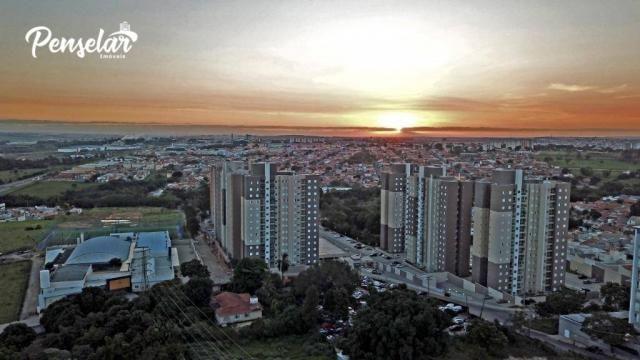 Apartamento com 3 dormitórios à venda, 63 m² por R$ 353.038,75 - Jardim Vista Verde - Inda - Foto 3