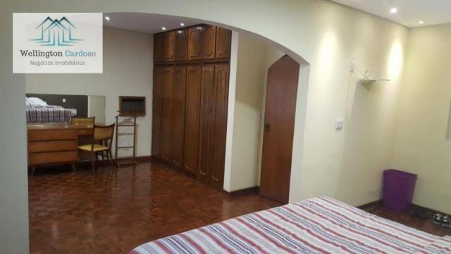 Sobrado com 4 dormitórios para alugar, 339 m² por R$ 5.000/mês MAIS IPTU DE R$350,00 - Jar - Foto 4