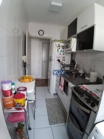 Apartamento com 2 dormitórios à venda, 54 m² por R$ 389.000,00 - Vila das Mercês - São Pau - Foto 14
