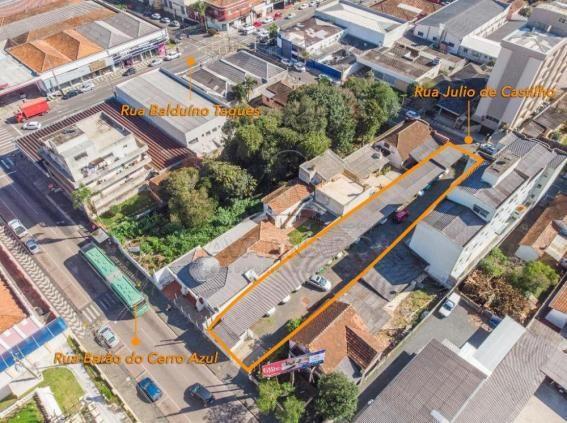 Terreno à venda em Centro, Ponta grossa cod:V1808