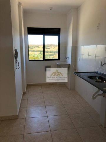 Apartamento com 2 dormitórios para alugar, 42 m² por R$ 700,00/mês - Bonfim Paulista - Rib - Foto 5