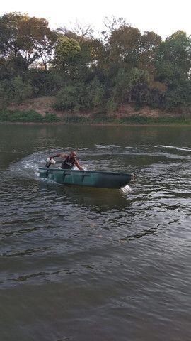 Barco Apache Pescador I/ Barco de Pesca/ Barco Motor/Melhor que caiaque - Foto 9