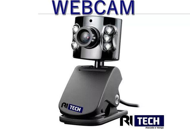 Webcam - aproveite a promoção da Ritech - atacado e varejo