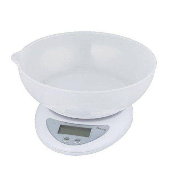 Balança Para Liquidos 5kg Com Tigela Sf-420 Tomate - Foto 4