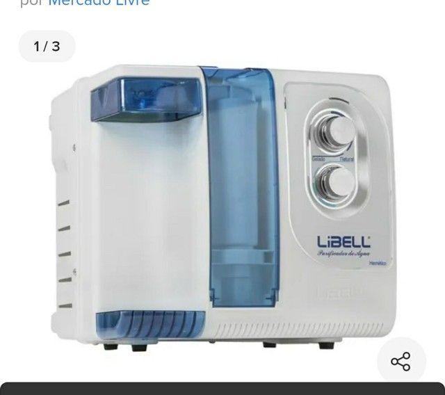 Purificador de água Eletrolux 4 caixa organizadora