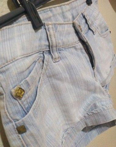 Short Jeans Feminino - Foto 4
