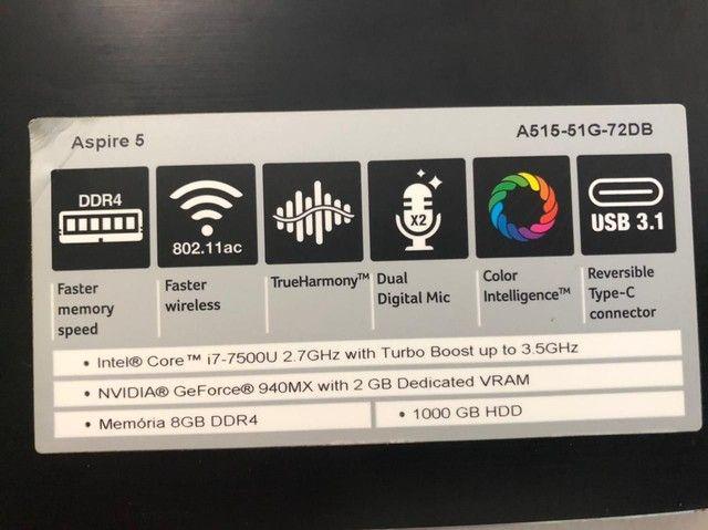 Vendo Acer Aspire 5 - Foto 4