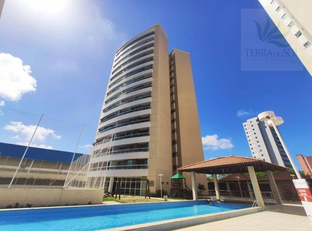 Apartamento com 3 dormitórios à venda, 81 m² por R$ 455.000 - Edson Queiroz - Fortaleza/CE - Foto 2