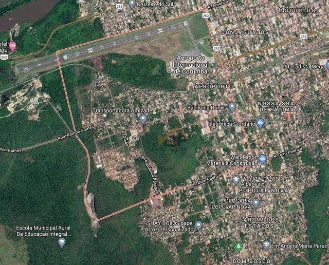 Terreno à venda, 21.402 m² por R$ 558.000 - Aeroporto - Corumbá/MS - Foto 4